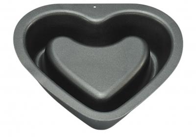 Khuôn hình trái tim 2 bên bằng silicone