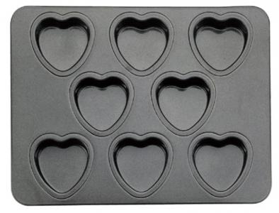 Khay bánh 8 khuôn hình tim