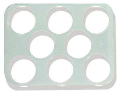 Khay tạo hình bánh quy - 8 phần (80mm)
