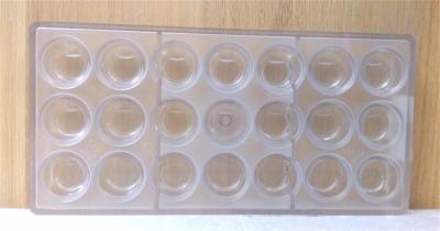 Khuôn nhựa trong Hình Tròn Chocolate