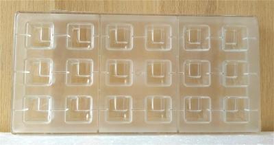 Khuôn nhựa trong Hình Vuông Chocolate