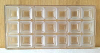 Khuôn nhựa trong Hình Vuông 3 tầng Chocolate