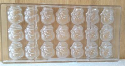 Khuôn nhựa trong Hình Người Tuyết Chocolate