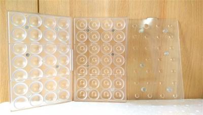 Khuôn nhựa trong chocolate hình tròn 3 chiều