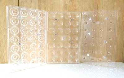 Khuôn nhựa trong chocolate hình kim cương 3 chiều