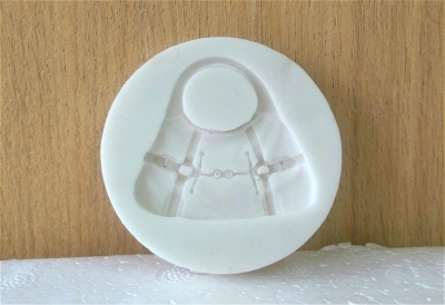 Khuôn chocolate/Fondant silicone hình túi xách