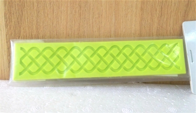 Khuôn chocolate/Fondant silicone hình dây giày