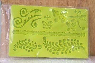 Khuôn chocolate/Fondant silicone hình bướm