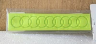 Khuôn chocolate/Fondant silicone hình chuỗi dây tròn