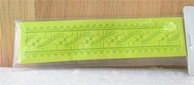 Khuôn chocolate/Fondant silicone hình vòng bò sát