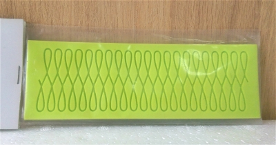 Khuôn chocolate/Fondant silicone hình lượn sóng