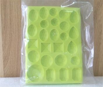 Khuôn chocolate/Fondant silicone hình đá quý