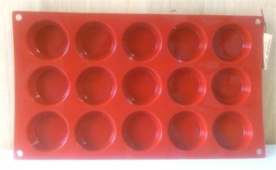 Khuôn silicone 15 hình tròn