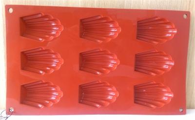 Khuôn silicone 9 bánh ma-đơ-len