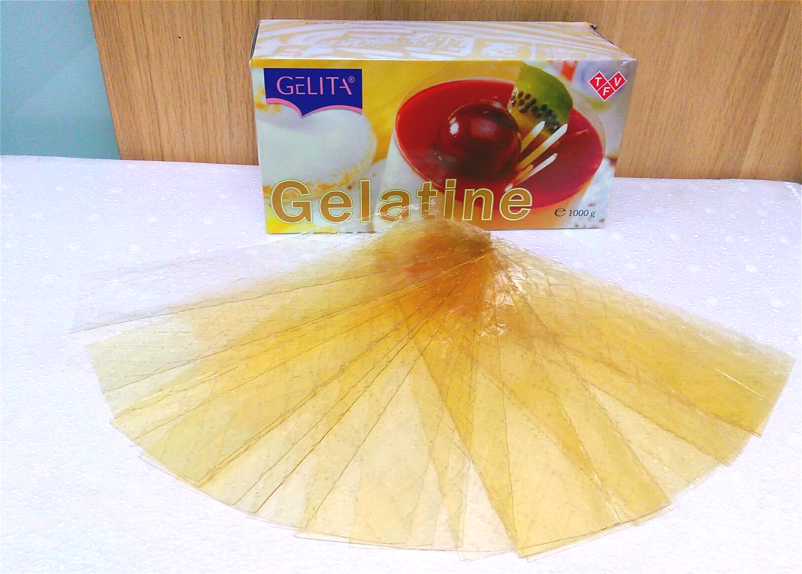 Gelatine lá 100g