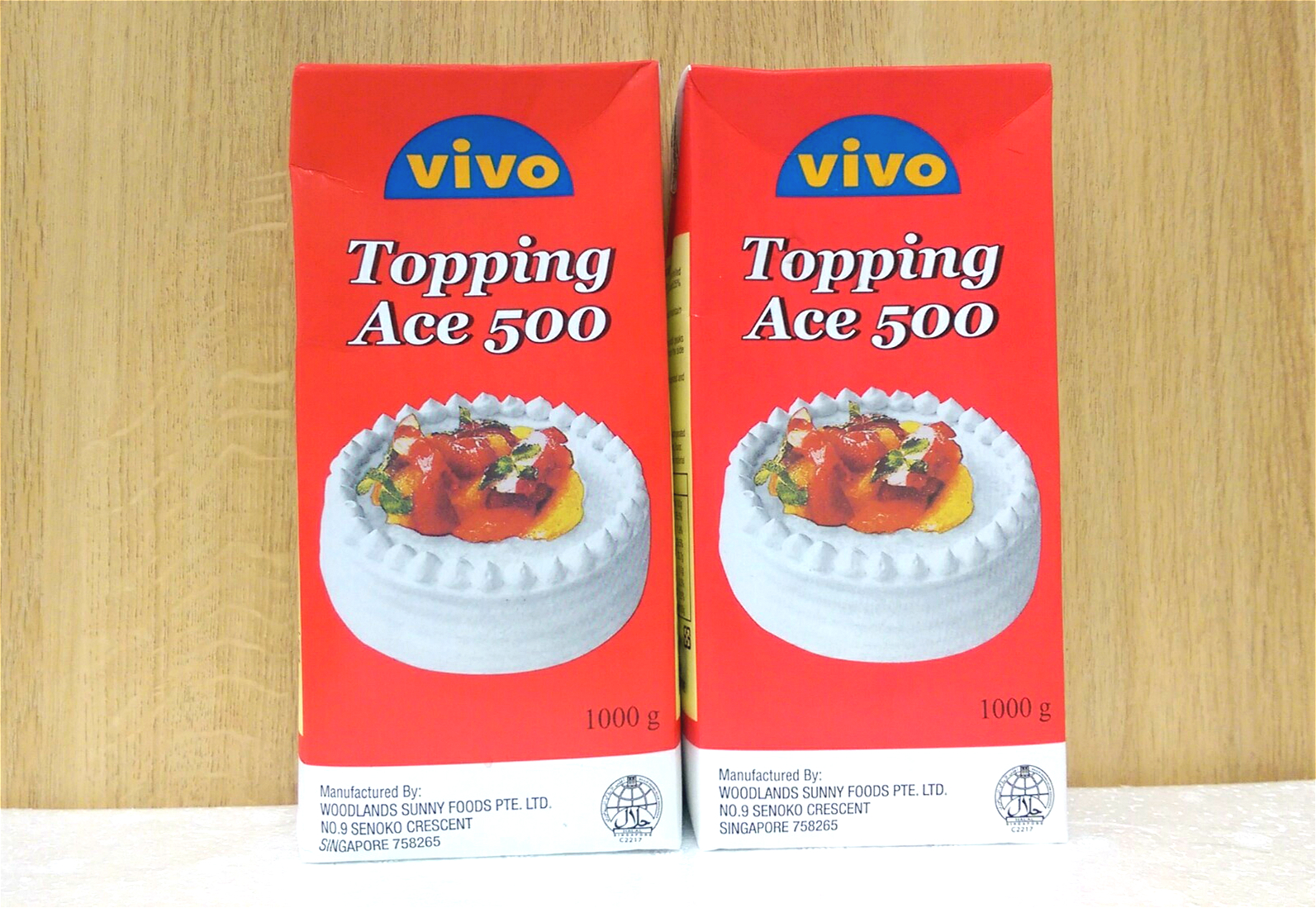 Kem Sữa Topping Ace 500