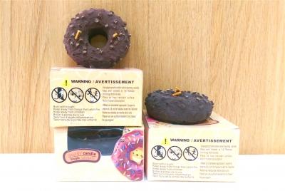 Nến thơm cao cấp hình Donut