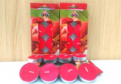 Nến thơm cao cấp mùi táo và quế - 8 cái/hộp