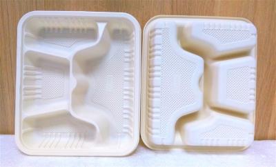 Khay nhựa 4 ngăn - 10 cái/bịch