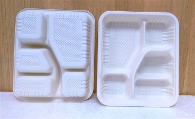 Khay nhựa 5 ngăn - 10 cái/bịch