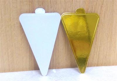 Đế bánh tam giác vàng - 50 cái/xấp