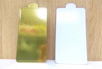 Đế bánh chữ nhật vàng - 50 cái/xấp