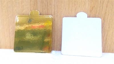 Đế bánh vuông vàng - 50 cái/xấp