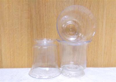 Ly nhựa trong - 10 cái/cây