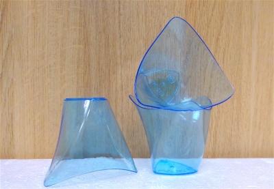 Ly nhựa trong xanh dương - 20 cái/bịch