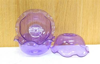 Ly nhựa trong tím - 20 cái/bịch