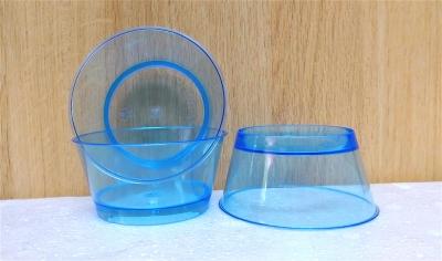 Ly nhựa trong màu xanh dương - 20 cái/bịch