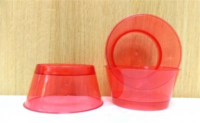 Ly nhựa trong màu đỏ - 20 cái/bịch