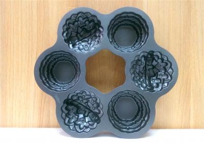 Khuôn bánh 2 phần - 6 khuôn nhỏ (3 bánh hoàn chỉnh)