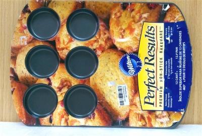 Khuôn 12 bánh muffins - không dính