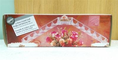 Bộ cầu nối pha lê nhựa trang trí bánh (Wilton)