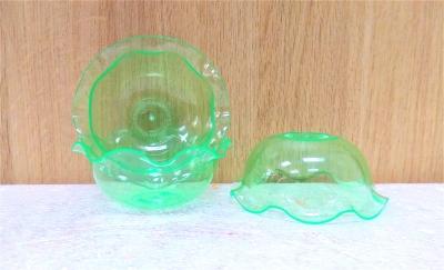 Ly nhựa trong màu xanh lá - 20 cái/bịch