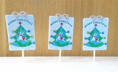 Vải dạ Noel