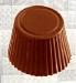 Khuôn nhựa trong Chocolate hình tròn có gợn sóng
