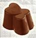 Khuôn nhựa trong Trái Tim Chocolate